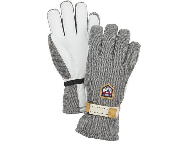 Hestra Windstopper Tour 5-finger handsker, natural grey